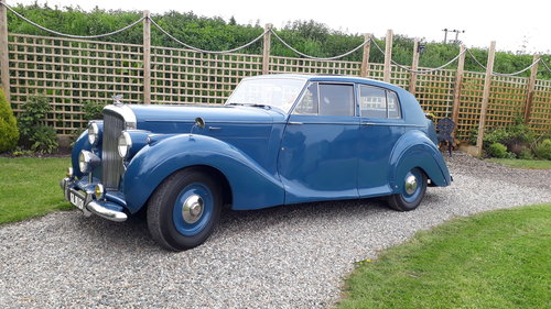 Bentley Mk VI James Young 1949 Duchess Norfolk 56k 3 Owners SOLD (picture 1 of 6)