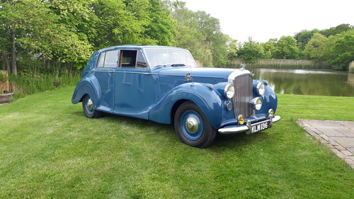 Bentley Mk VI James Young 1949 Duchess Norfolk 56k 3 Owners SOLD (picture 3 of 6)