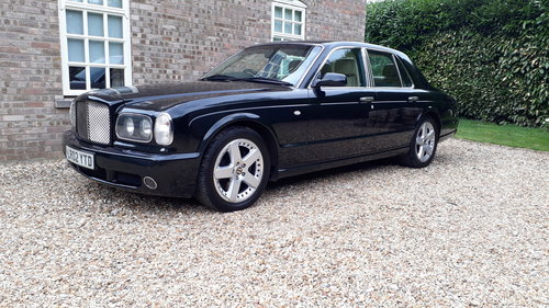 Bentley Arnage T 2002 £32k+ Receipts 450 BHP 14 Services V8 SOLD (picture 1 of 6)