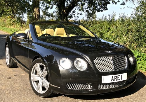 2007 BENTLEY CONTIENTAL GTC For Sale (picture 1 of 6)