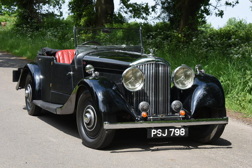 1934 BENTLEY 3 1/2 litre  Derby 3 Position DHC / Convertible For Sale (picture 1 of 2)