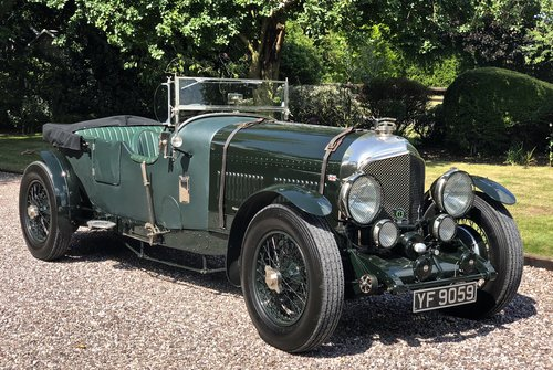 1929 BENTLEY 6 1/4 LITRE SPEED EIGHT                 Racing Green For Sale (picture 1 of 6)
