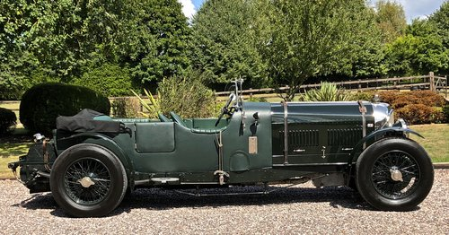 1929 BENTLEY 6 1/4 LITRE SPEED EIGHT                 Racing Green For Sale (picture 2 of 6)