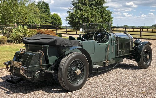 1929 BENTLEY 6 1/4 LITRE SPEED EIGHT                 Racing Green For Sale (picture 3 of 6)
