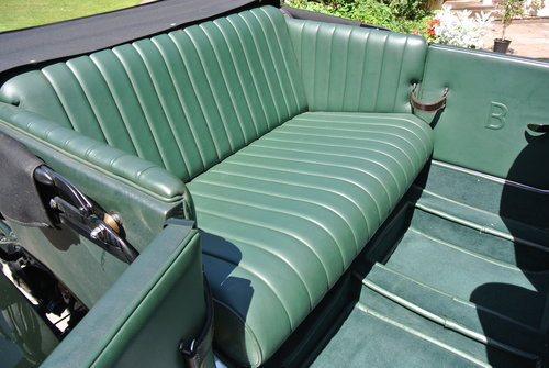 1929 BENTLEY 6 1/4 LITRE SPEED EIGHT                 Racing Green For Sale (picture 6 of 6)