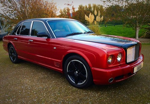 2002 BENTLEY ARNAGE T MULLINER SPEC - TOTALLY STUNNING - PX ? SOLD (picture 1 of 6)