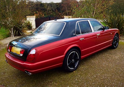 2002 BENTLEY ARNAGE T MULLINER SPEC - TOTALLY STUNNING - PX ? SOLD (picture 2 of 6)