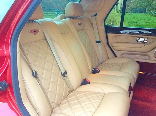 2002 BENTLEY ARNAGE T MULLINER SPEC - TOTALLY STUNNING - PX ? SOLD (picture 5 of 6)