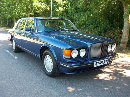 1991 BENTLEY TURBO R For Sale (picture 1 of 5)