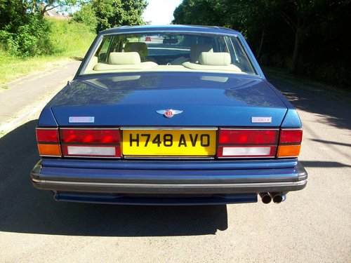 1991 BENTLEY TURBO R For Sale (picture 4 of 5)