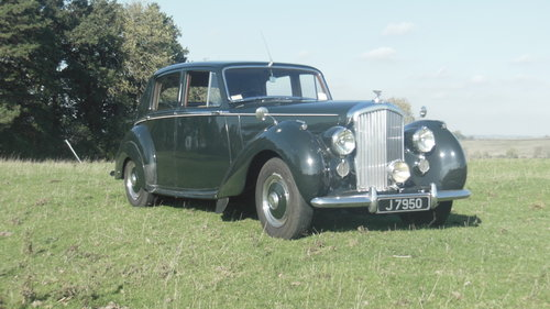 1950 Bentley Mark VI For Sale (picture 1 of 6)