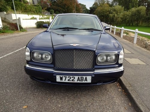 2000 BENTLEY ARNAGE RED LABEL - ONLY 43,000 MILES SOLD (picture 1 of 6)