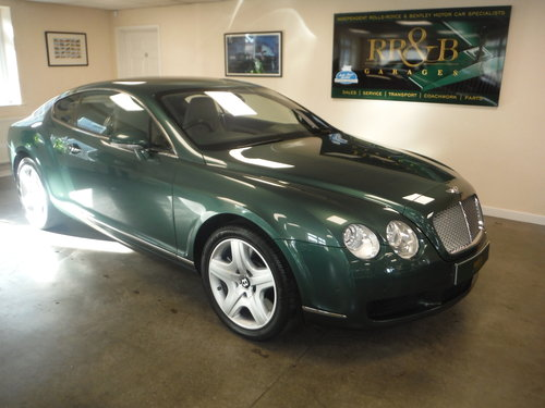 2004 Bentley Continental GT SOLD (picture 1 of 6)