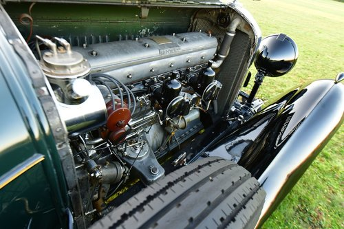 1931 Bentley 8.0 Litre Weyman Saloon by H.J. Mulliner For Sale (picture 6 of 6)