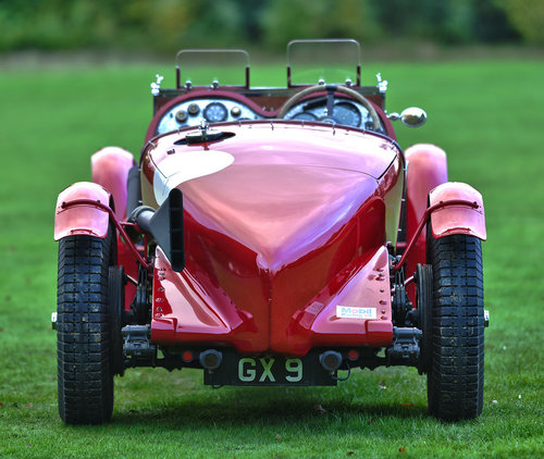 1932 Bentley Blower 4/8 litre racer. SOLD (picture 4 of 6)