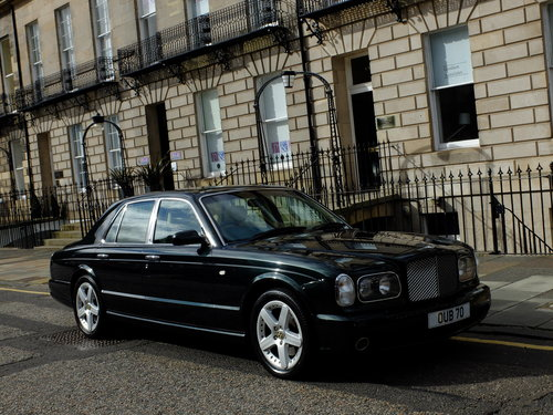 2003 BENTLEY ARNAGE T - IMPECCABLE S/HISTORY - 57K MILES - SOLD (picture 1 of 6)