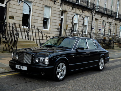 2003 BENTLEY ARNAGE T - IMPECCABLE S/HISTORY - 57K MILES - SOLD (picture 2 of 6)