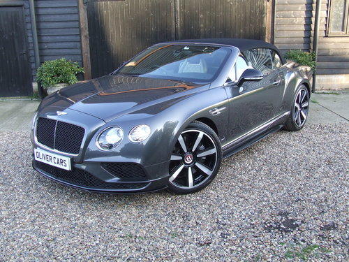 2017 Bentley Continental GT V8S Convertible With Mulliner + Naim  For Sale (picture 1 of 6)