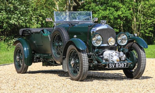 1929 Bentley 4½-Litre (5.3) Supercharged Tourer Recreation  For Sale (picture 1 of 6)