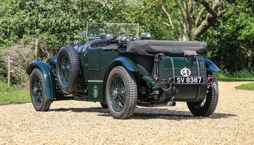 1929 Bentley 4½-Litre (5.3) Supercharged Tourer Recreation  For Sale (picture 4 of 6)
