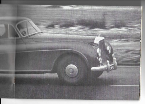 1951 Original sale brochure for BENTLEY Continental R For Sale (picture 2 of 6)