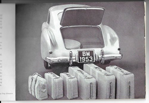 1951 Original sale brochure for BENTLEY Continental R For Sale (picture 4 of 6)