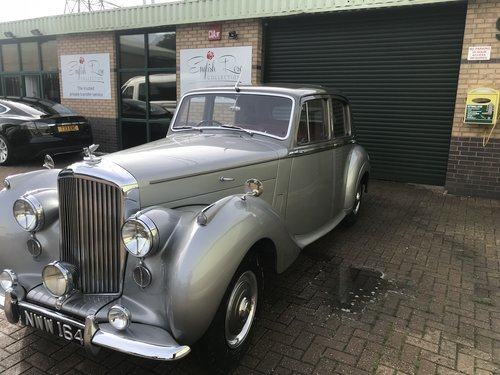 Bentley R Type 1954 SOLD (picture 2 of 6)