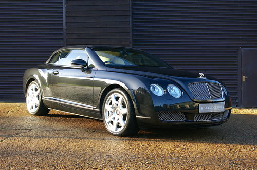 2008 Bentley Continental 6.0 W12 GTC MULLINER Auto (39,233 miles) SOLD (picture 1 of 6)