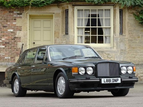 1994 Bentley Turbo RL - ex-Prince Charles For Sale (picture 1 of 6)