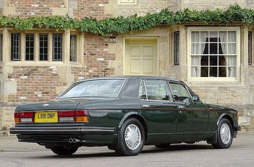 1994 Bentley Turbo RL - ex-Prince Charles For Sale (picture 3 of 6)