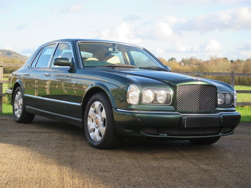 1999 Bentley Arnage Red Label SOLD (picture 1 of 6)