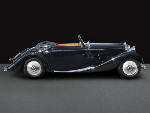 1936 Bentley 4 1/4 Litre 3 Position Drophead Coupe by Veth & Zoon For Sale (picture 1 of 1)