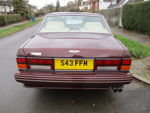 BENTLEY TURBO RT 1998 S REG 400BHP FINAL SERIES For Sale (picture 6 of 6)
