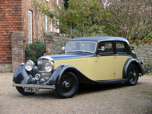 1937 Derby Bentley 4.25 litre Sports Saloon by Park Ward For Sale (picture 1 of 6)