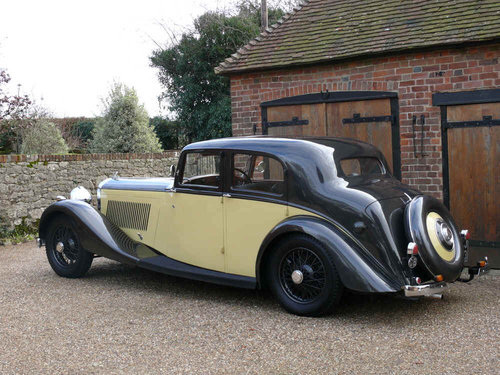 1937 Derby Bentley 4.25 litre Sports Saloon by Park Ward For Sale (picture 2 of 6)