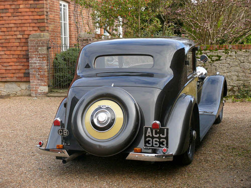 1937 Derby Bentley 4.25 litre Sports Saloon by Park Ward For Sale (picture 3 of 6)