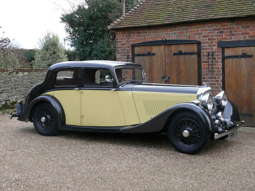 1937 Derby Bentley 4.25 litre Sports Saloon by Park Ward For Sale (picture 4 of 6)