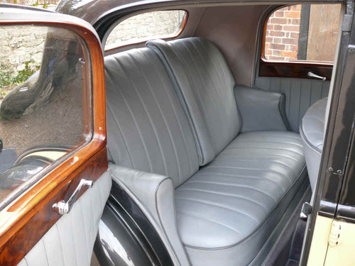 1937 Derby Bentley 4.25 litre Sports Saloon by Park Ward For Sale (picture 6 of 6)