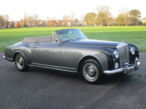 1955 Bentley S1 Continental Drophead Coupe by Park Ward For Sale (picture 1 of 1)