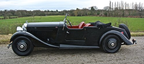 1934 BENTLEY 3 1/2 litre  Derby 3 Position DHC / Convertible For Sale (picture 2 of 6)