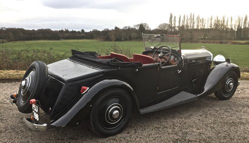 1934 BENTLEY 3 1/2 litre  Derby 3 Position DHC / Convertible For Sale (picture 3 of 6)