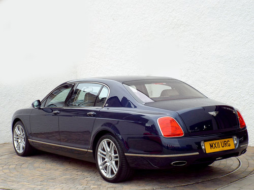 2011 Chauffeur Driven Flying Spur, 142000 miles SOLD (picture 3 of 6)