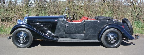 1934 BENTLEY 3 1/2 litre  Derby 3 Position DHC / Convertible For Sale (picture 4 of 6)