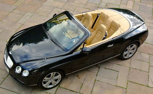 2007 BENTLEY CONTIENTAL GTC Convertible For Sale (picture 1 of 6)