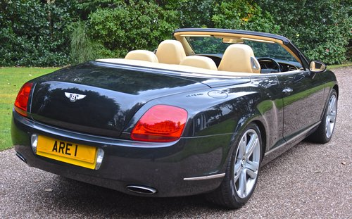 2007 BENTLEY CONTIENTAL GTC Convertible For Sale (picture 4 of 6)