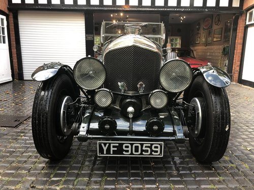 1929 BENTLEY 6 1/4 LITRE SPEED EIGHT                 Racing Green For Sale (picture 1 of 5)
