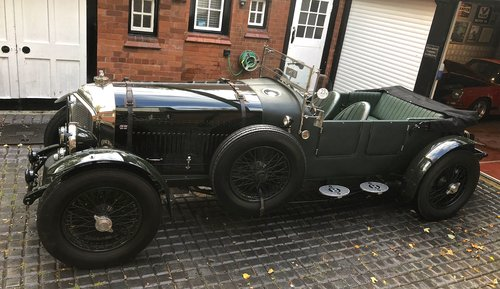 1929 BENTLEY 6 1/4 LITRE SPEED EIGHT                 Racing Green For Sale (picture 2 of 5)