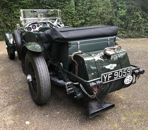 1929 BENTLEY 6 1/4 LITRE SPEED EIGHT                 Racing Green For Sale (picture 3 of 5)