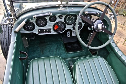 1929 BENTLEY 6 1/4 LITRE SPEED EIGHT                 Racing Green For Sale (picture 4 of 5)