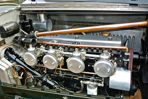 1929 BENTLEY 6 1/4 LITRE SPEED EIGHT                 Racing Green For Sale (picture 5 of 5)